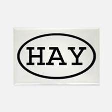 HAY Oval Rectangle Magnet