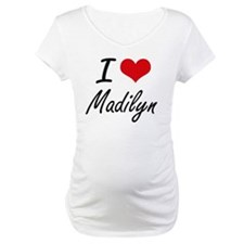 I Love Madilyn artistic design Shirt