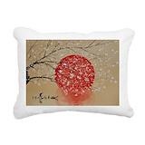 Asian Rectangle Canvas Pillows