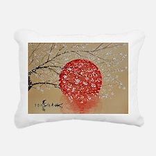 Japan Rectangular Canvas Pillow