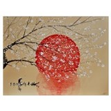 Japanese Wrapped Canvas Art