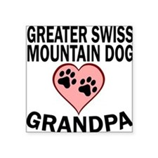 Greater Swiss Mountain Dog Grandpa Sticker
