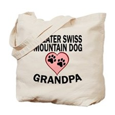 Greater Swiss Mountain Dog Grandpa Tote Bag