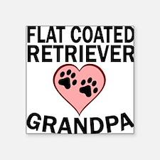 Flat-Coated Retriever Grandpa Sticker