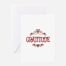 Gratitude Hearts Greeting Card