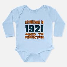 Established In 1921 Long Sleeve Infant Bodysuit