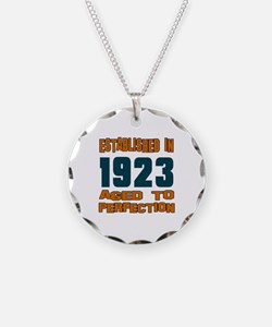Established In 1923 Necklace
