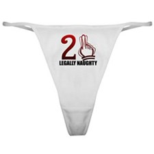 21st Gifts Classic Thong