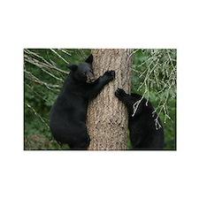 black bears Rectangle Magnet