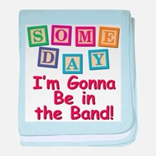 Someday Band baby blanket