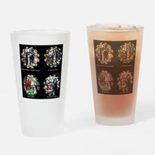 Benedictine Traditions in Stained G Drinking Glass