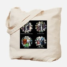 Benedictine Traditions in Stained Glass Tote Bag