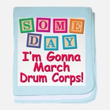 Someday Drum Corps baby blanket