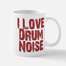 I Love Drum NOISE Mugs