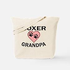 Boxer Grandpa Tote Bag