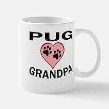 Pug Grandpa Mugs