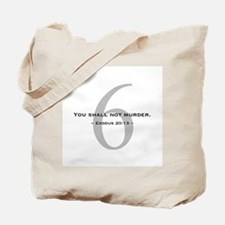 10 Commandments 6 - Tote Bag
