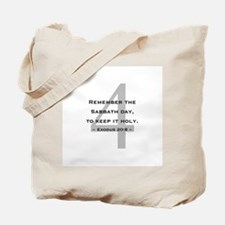 10 Commandments 4 - Tote Bag