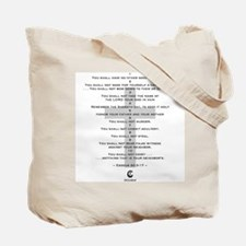 10 Commandments 1 - Tote Bag