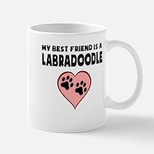 My Best Friend Is A Labradoodle Mugs