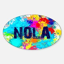 Good Vibes NOLA Burst Decal