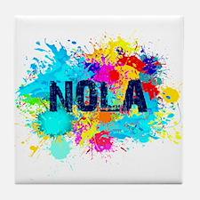 Good Vibes NOLA Burst Tile Coaster