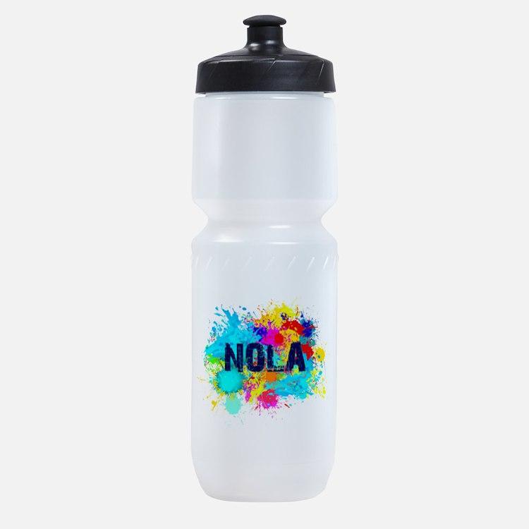 Good Vibes NOLA Burst Sports Bottle