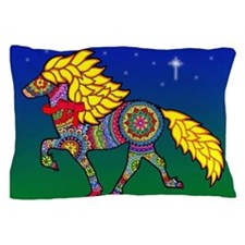 Cute Icelandic horse Pillow Case