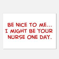 Cute Workplace humor Postcards (Package of 8)