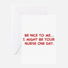 Funny Health care Greeting Card