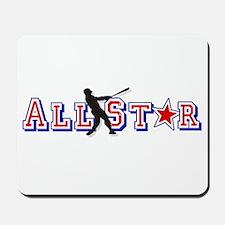 All St*r Baseball Mousepad