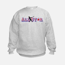 All St*r Baseball Sweatshirt