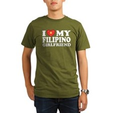Funny Philippines heart T-Shirt