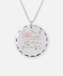Blessed To Be A Grandma Necklace