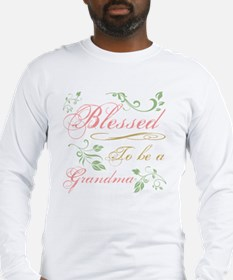 Blessed To Be A Grandma Long Sleeve T-Shirt