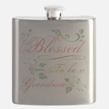 Blessed To Be A Grandma Flask