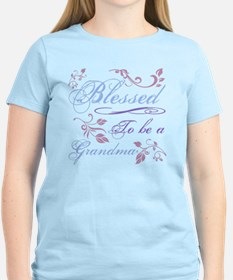 Blessed To Be A Grandma T-Shirt