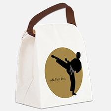 Karate Boy Canvas Lunch Bag
