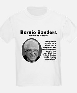 Sanders: Education T-Shirt