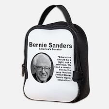 Sanders: Education Neoprene Lunch Bag