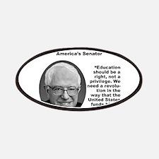 Sanders: Education Patch