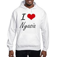 I Love Nyasia artistic design Hoodie Sweatshirt