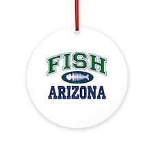 Fish Arizona Ornament (Round)