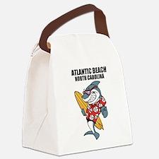 Atlantic Beach, North Carolina Canvas Lunch Bag