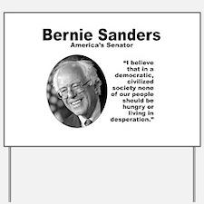 Sanders: Civilized Yard Sign