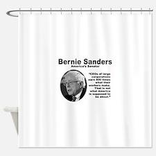 Sanders: CEOs Shower Curtain