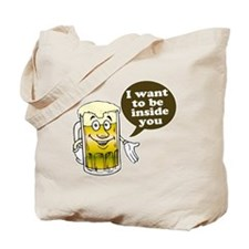 Beer Inside You Tote Bag
