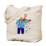 Violin Viola Player Tote Bag