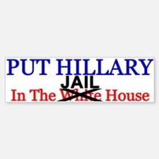 Hillary Jail House Bumper Bumper Bumper Sticker