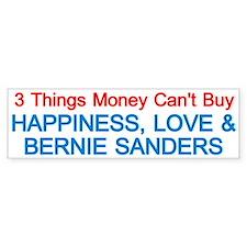 Happiness, Love And Bernie Bumper Bumper Sticker